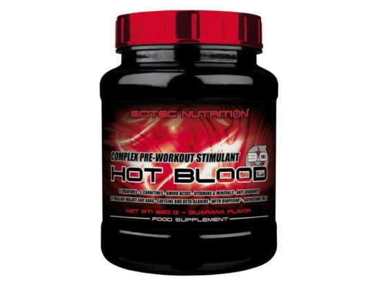 Hot Blood Scitec Nutrition